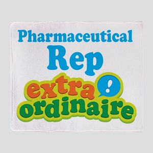 Pharmaceutical Rep Extraordinaire Throw Blanket