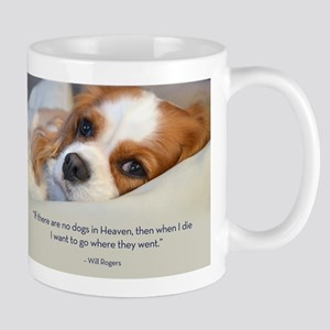Cavalier King Charles Spaniel in Heaven Mug