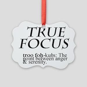 True Focus Picture Ornament