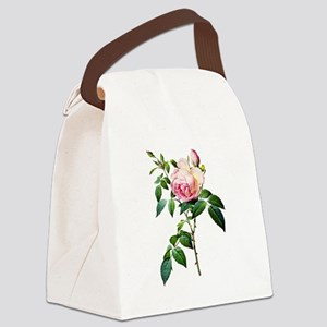 Pierre-Joseph Redoute Rose Canvas Lunch Bag