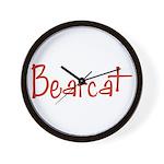 Bearcat Wall Clock
