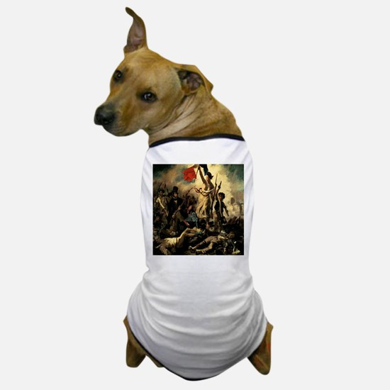 Liberty Leading The People Dog T-Shirt