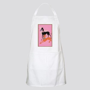 Greyhounds art deco Apron