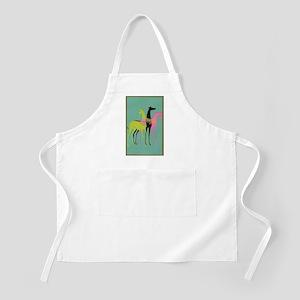Art Deco Ornate Greyhounds Apron