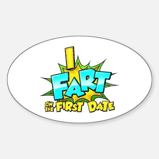 First Date Sticker (Oval)