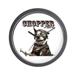 Chopper's Wall Clock