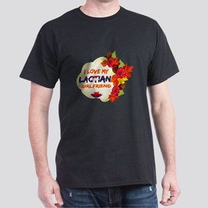Laotian Girlfriend Valentine design Dark T-Shirt