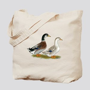 Appleyard Silver Ducks Tote Bag