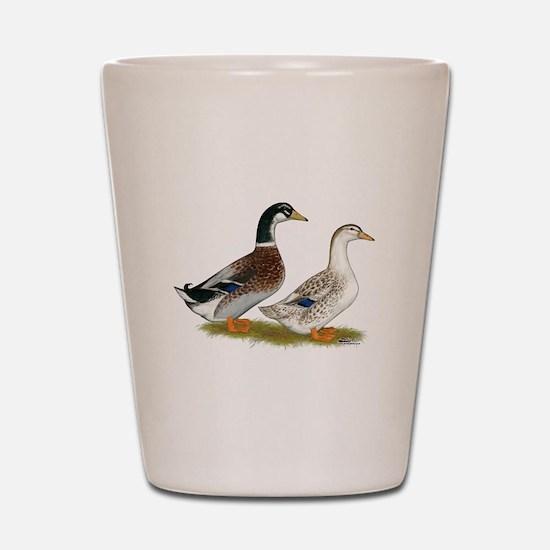 Appleyard Silver Ducks Shot Glass