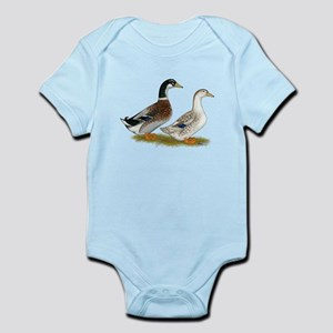 Appleyard Silver Ducks Infant Bodysuit