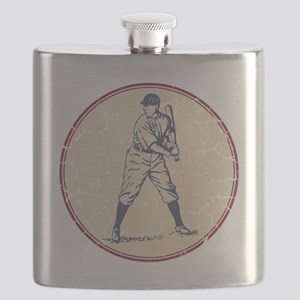Baseball Player Flask