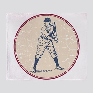 Baseball Player Throw Blanket
