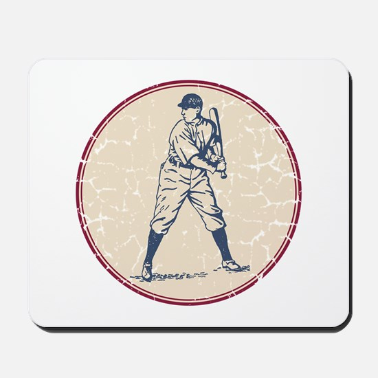 Baseball Player Mousepad