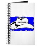 I LOVE COWBOYS Journal