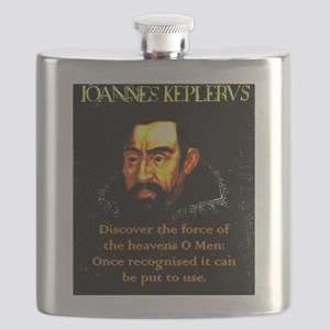 Discover The Force Of The Heavens - Kepler Flask