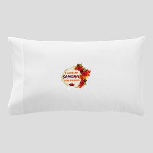 Samoan Girlfriend Valentine design Pillow Case