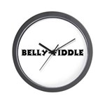 Belly-Fiddle Wall Clock