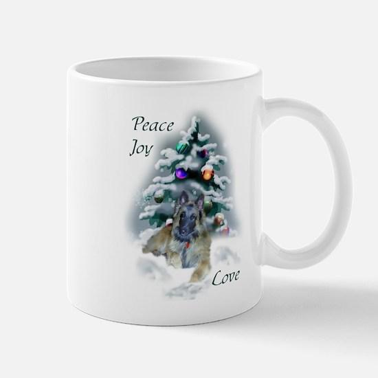 Belgian Tervuren Christmas Mug