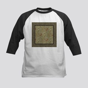 William Morris Floral lily willow Baseball Jersey