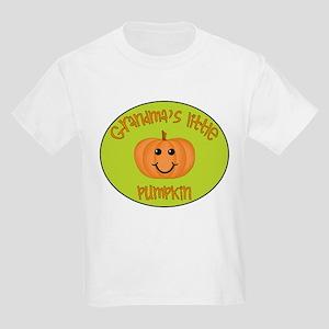 Grandma's Little Pumpkin Kids T-Shirt