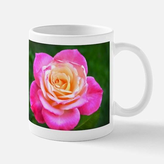 Pink Sunset Rose Mug