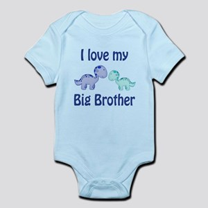 I love my big brother! Infant Bodysuit
