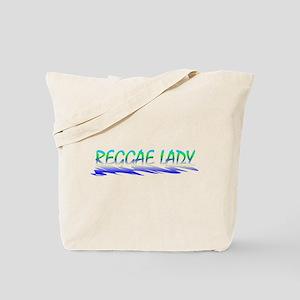 Reggae Lady Tote Bag
