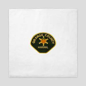 Orange County Marshal Queen Duvet