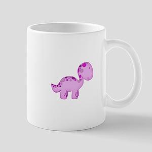 Baby Dino Purple. Mug