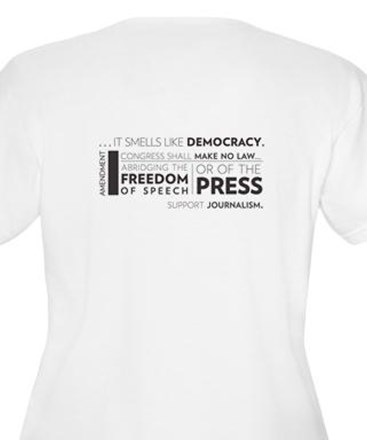 Smells Like Democracy Plus Size T-Shirt