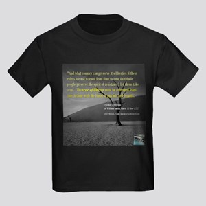 The Liberty Tree (Long) Kids Dark T-Shirt