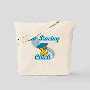 Car Racing Chick #3 Tote Bag