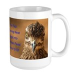 Chicken Feed Large Mug