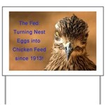 Chicken Feed Yard Sign