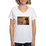 Chicken Feed Women's V-Neck T-Shirt