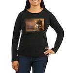 Chicken Feed Women's Long Sleeve Dark T-Shirt