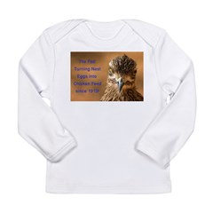 Chicken Feed Long Sleeve Infant T-Shirt