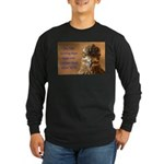 Chicken Feed Long Sleeve Dark T-Shirt