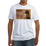 Chicken Feed Fitted T-Shirt