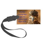 Chicken Feed Large Luggage Tag
