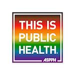 Pride TIPH Sticker (Square 50 pk)
