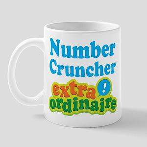 Number Cruncher Extraordinaire Mug