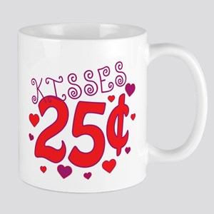 Kisses 25 cents Mug