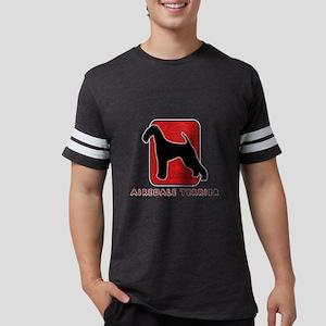 3-redsilhouette Mens Football Shirt