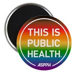 Pride Circle Logo Magnets
