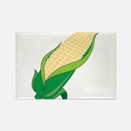 Corn Rectangle Magnet