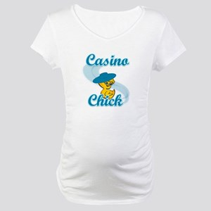 Casino Chick #3 Maternity T-Shirt