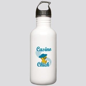 Casino Chick #3 Stainless Water Bottle 1.0L