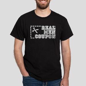 REAL MEN COUPON Dark T-Shirt