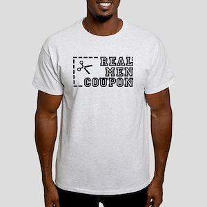REAL MEN COUPON Light T-Shirt